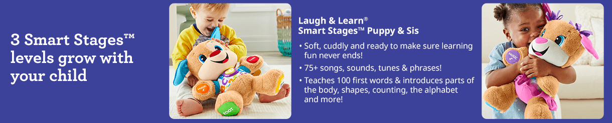 Laugh Learn Smart Stages