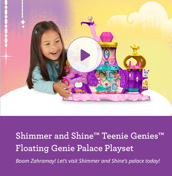 Floating Genie Palace Playset