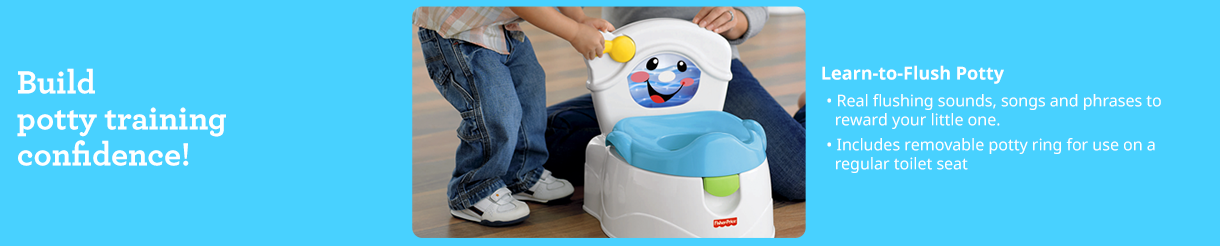 Potty Chairs & Toilet Seats