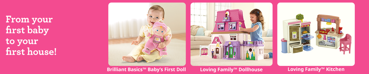Baby & Toddler Dolls, Dollhouses & Accessories | Fisher-Price