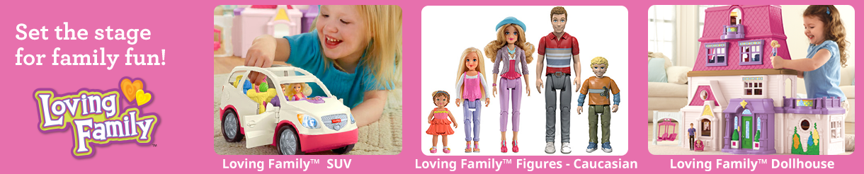 Loving Family Toys, Figures & Accessories | Fisher-Price