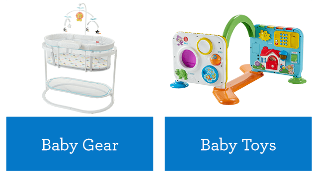 f2887d85d4f3d Find gift ideas for babies, toddlers and preschoolers in any category from  baby gear to early learning toys. Shop our extensive collection of baby  gear, ...