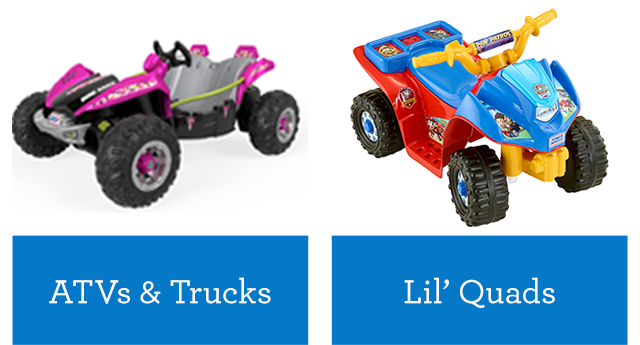 Power Wheels Vehicles For Boys Girls