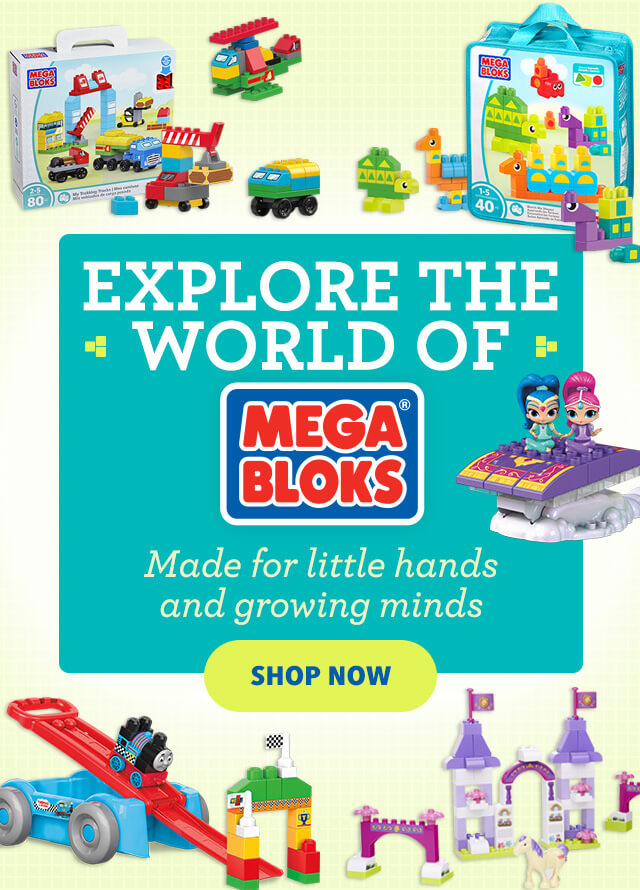 Explore the World of Mega Bloks