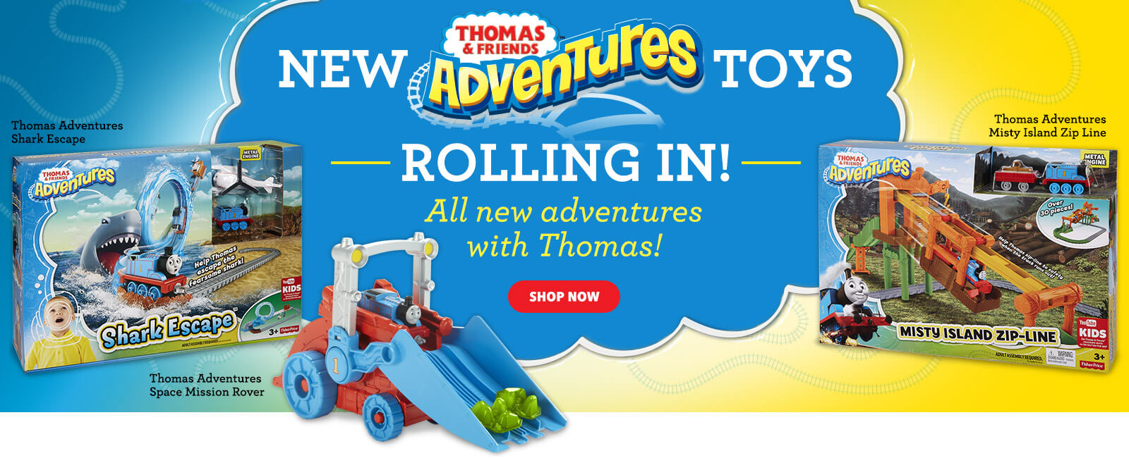 New Thomas & Friends Adventures Toys!