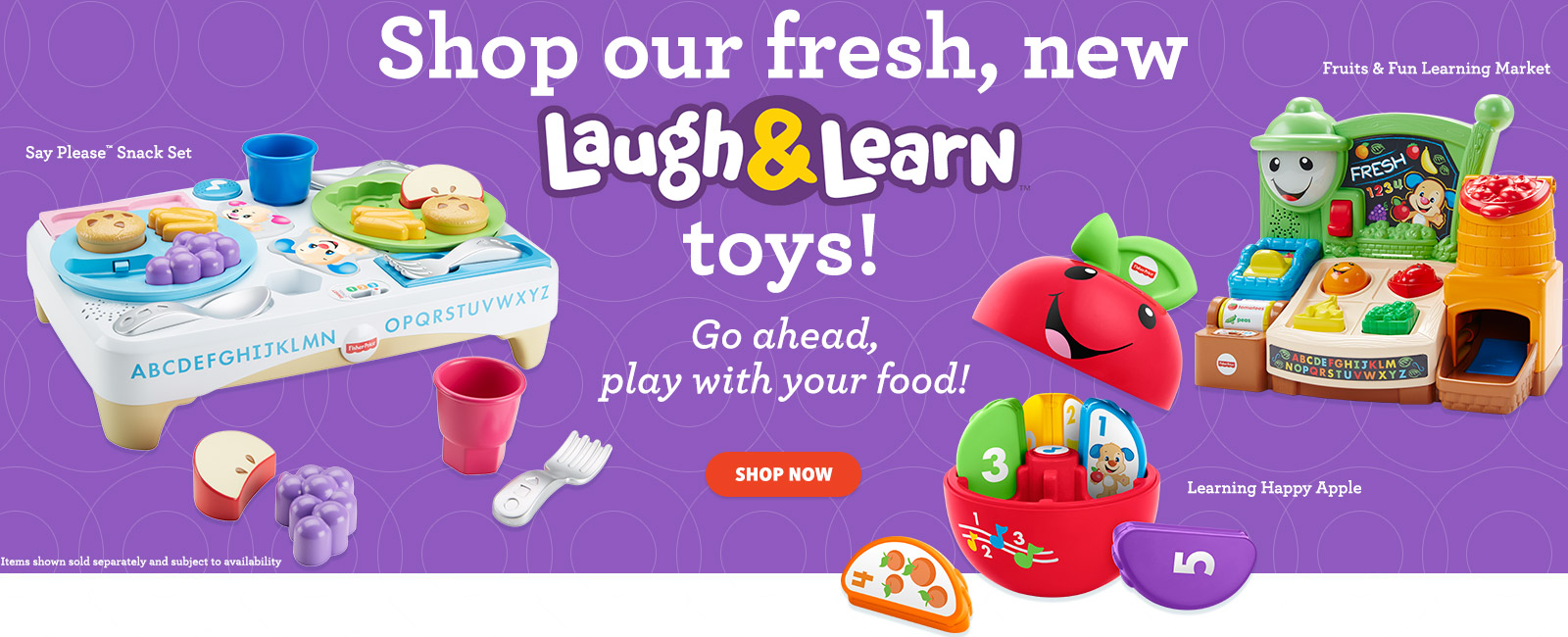 Shop our fresh, new Laugh & Learn toys!