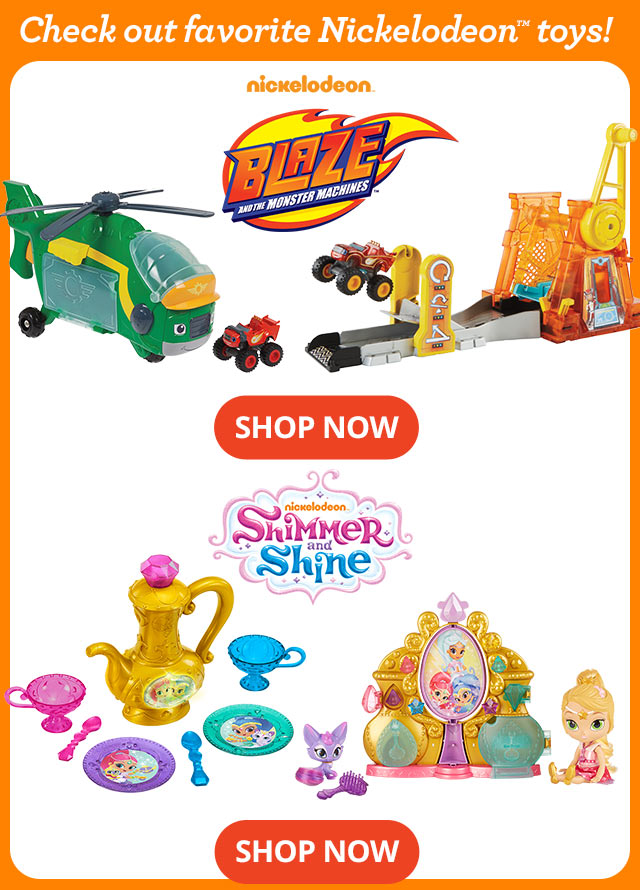 Check out favorite Nickelodeon™ toys!